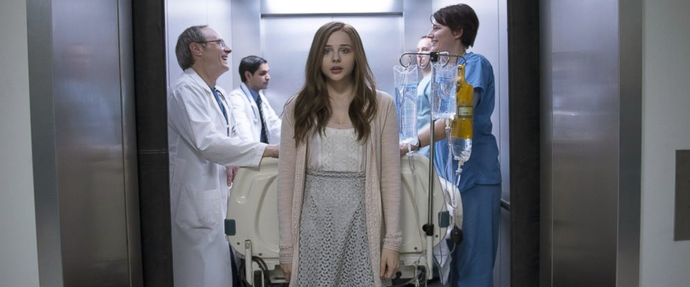 "PHOTO: Chloe Grace Moretz in a scene from ""If I Stay."""