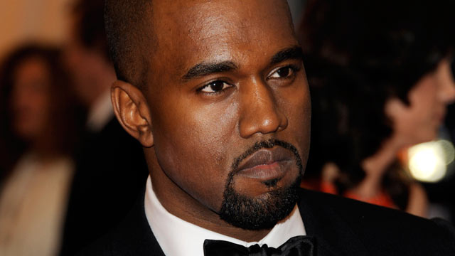 PHOTO: Kanye West arrives at the Metropolitan Museum of Art Costume Institute gala benefit in New York.