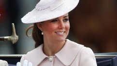 Kate Middleton Looks Radiant in Pink