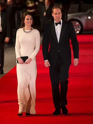 Kate Middleton Stuns in White