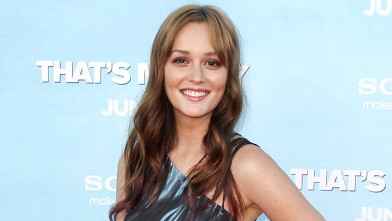 PHOTO: Cast member Leighton Meester arrives at the premiere of &quot;That's My Boy&quot;, June 4, 2012, in Los Angeles.