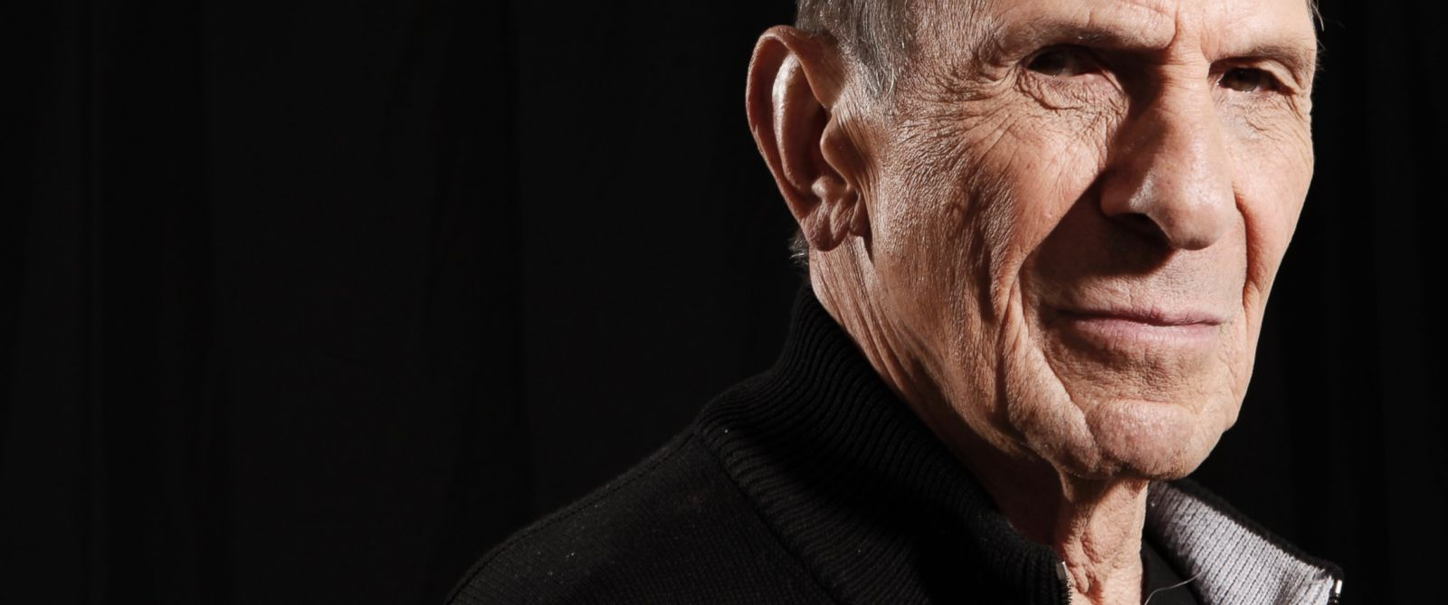 "PHOTO: Actor Leonard Nimoy, a cast member in the upcoming film ""Star Trek"", poses for a portrait in Beverly Hills, Calif., April 26, 2009."
