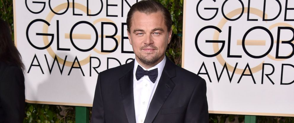PHOTO: Leonardo DiCaprio arrives at the 73rd annual Golden Globe Awards on Jan. 10, 2016, at the Beverly Hilton Hotel in Beverly Hills, Calif.