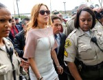 PHOTO: Actress Lindsay Lohan arrives at the Los Angeles Superior court, March 18, 2013.