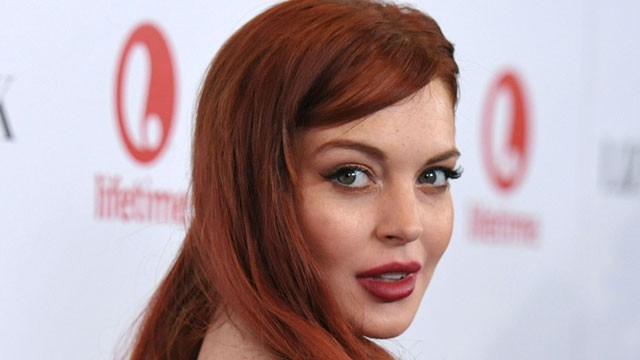"PHOTO: Actress Lindsay Lohan attends a dinner celebrating the premiere of ""Liz & Dick"" at the Beverly Hills Hotel on Tuesday, Nov. 20, 2012, in Beverly Hills, Calif."
