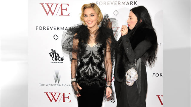 "PHOTO: Madonna attends the premiere of ""W.E."" at the Ziegfeld Theater, Jan. 23, 2012 in New York City."