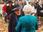 PHOTO: Maggie Smith Meets the Queen