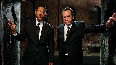 PHOTO: Tommy Lee Jones, right, and Will Smith star are shown in a scene from &quot;Men in Black 3.&quot;