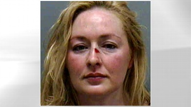 PHOTO: Country singer Mindy McCready charged with battery and resisting arrest early, July 21, 2007 in Fort Myers, Fla.