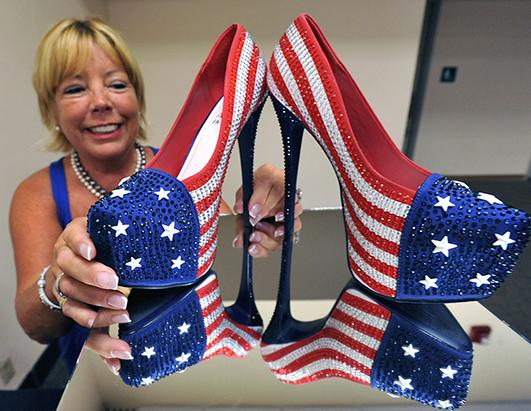 Miss America's Shoes