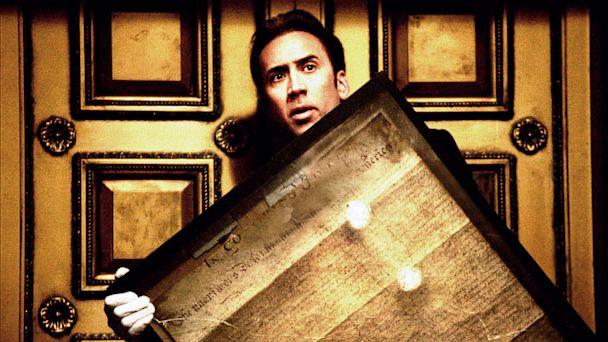 "PHOTO: Nicolas Cage in ""National Treasure"""