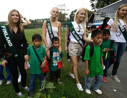 Miss Earth competition takes place in the Philippines