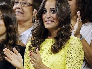 Photos: Pippa Middleton Shines in Yellow at US Open