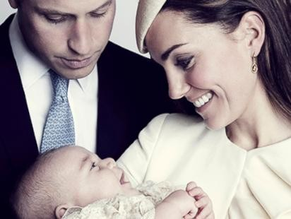 Prince Georges Official Christening Photos Unveiled