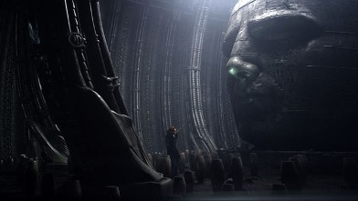 PHOTO: Noomi Rapace in 2012 movie Prometheus.