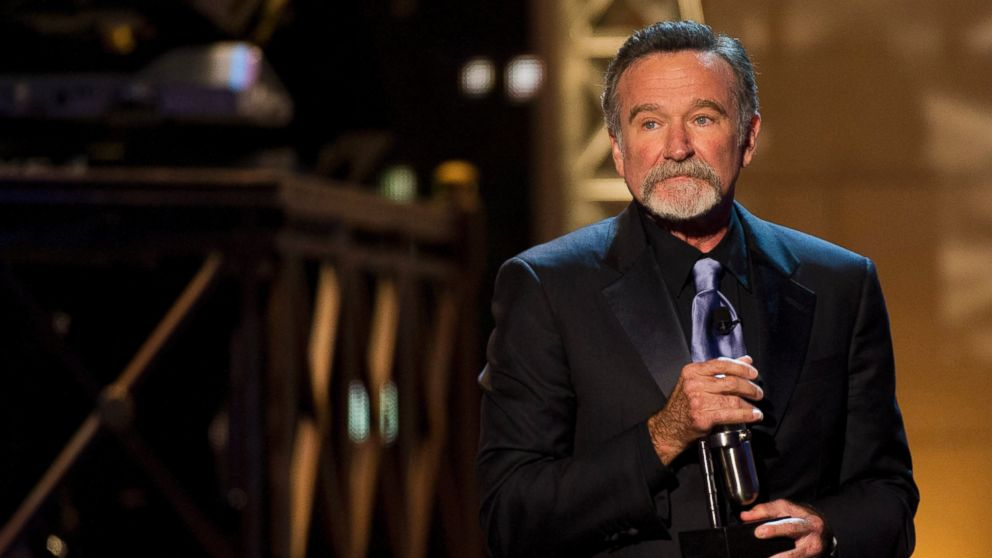 PHOTO: Robin Williams appears onstage at The 2012 Comedy Awards in New York, Saturday, April 28, 2012.