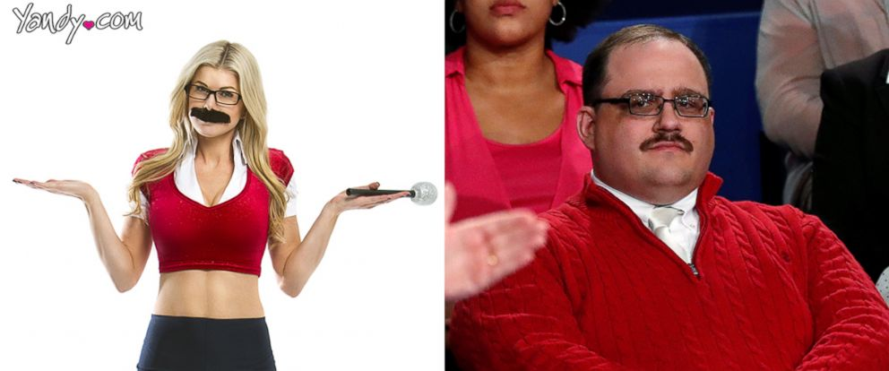 Sexy Red Sweater Halloween Costume Inspired by Presidential Debate ...