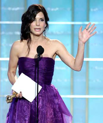 Celebrities Rally for Haiti Sandra Bullock