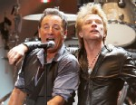 "PHOTO: This image released by Starpix shows Bruce Springsteen, left, and Jon Bon Jovi performing at the ""12-12-12 The Concert for Sandy Relief"" at Madison Square Garden in New York on Wednesday, Dec. 12, 2012."