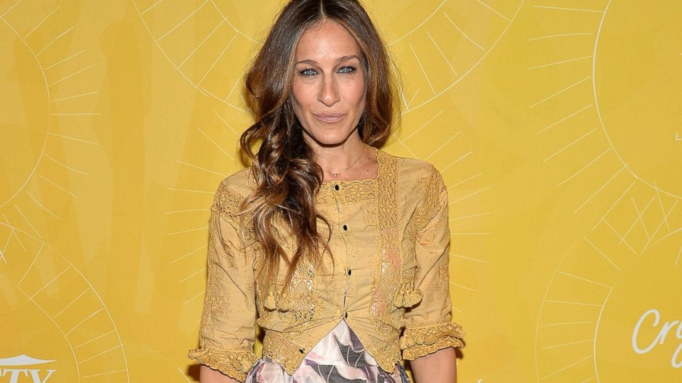 """PHOTO: Actress Sarah Jessica Parker attends Varietys """"Power of Women: New York"""" luncheon at Cipriani Midtown, April 25, 2014 in New York."""