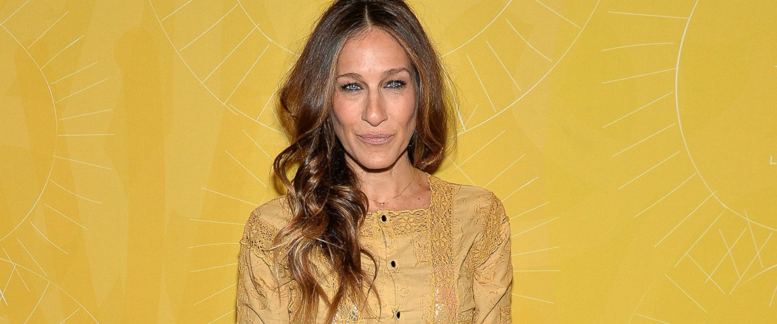 "PHOTO: Actress Sarah Jessica Parker attends Varietys ""Power of Women: New York"" luncheon at Cipriani Midtown, April 25, 2014 in New York."