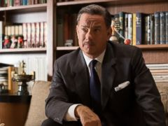 PHOTO: Tom Hanks portrays Walt Disney in a scene from the film Saving Mr. Banks.