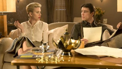 "PHOTO: Scarlett Johansson and Josh Hartnett are shown in a scene from ""The Black Dahlia."""