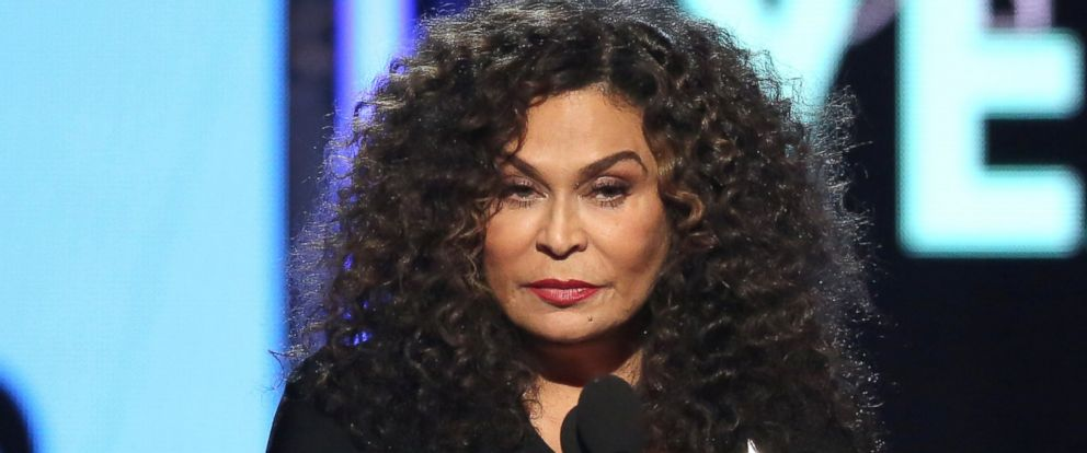 PHOTO: Tina Knowles accepts the award for video of the year on behalf of Beyonce for ?Formation? at the BET Awards at the Microsoft Theater on June 26, 2016, in Los Angeles.