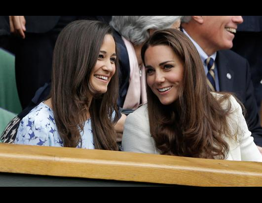 Kate and Pippa Middleton at Wimbledon