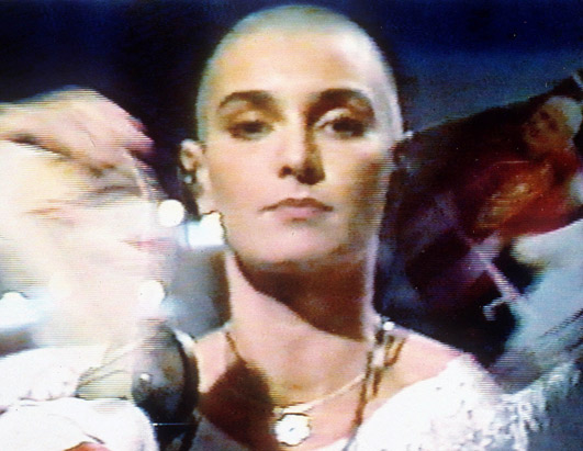 Sinead O'Connor, from 1992 Saturday Night Live performance, via ABCNews.com