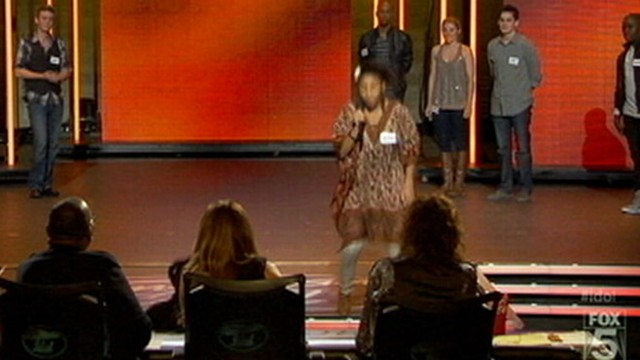 VIDEO: Symone Black, 16, took a tumble during audition in Hollywood.