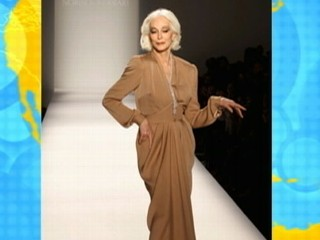 Watch: 81-Year-Old Model Shines at Fashion Week