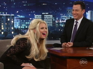 Watch: Jessica Simpson's 'Wiener' Talk: 'I'm Having a Boy'