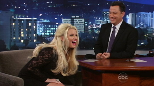 VIDEO: Jessica Simpson accidentally mentioned the sex of her unborn child during pregnancy chat.