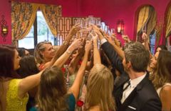 'PHOTO: Arie Luyendyk Jr.,1_b@b_1right, joining the women in a toast1_b@b_1the start of this seasons The Bachelor. The premiere was aired Jan. 1, 2018. ARIE LUYENDYK JR.' from the web at 'http://a.abcnews.com/images/Entertainment/bachelor-05-abc-jrl-180102_23x15_240.jpg'