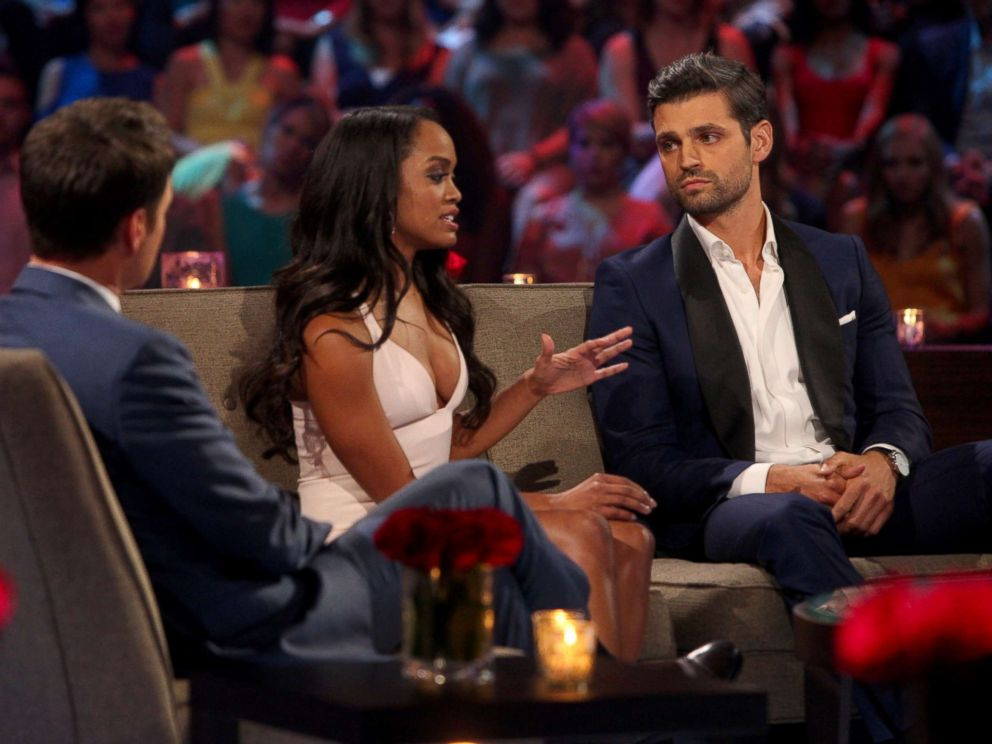 PHOTO Rachel Lindsay And Peter Kraus Discuss Incidences From This Season Of The Bachelorette With