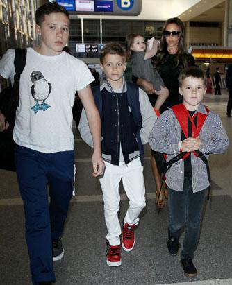Hudson Leads Sons in Airport