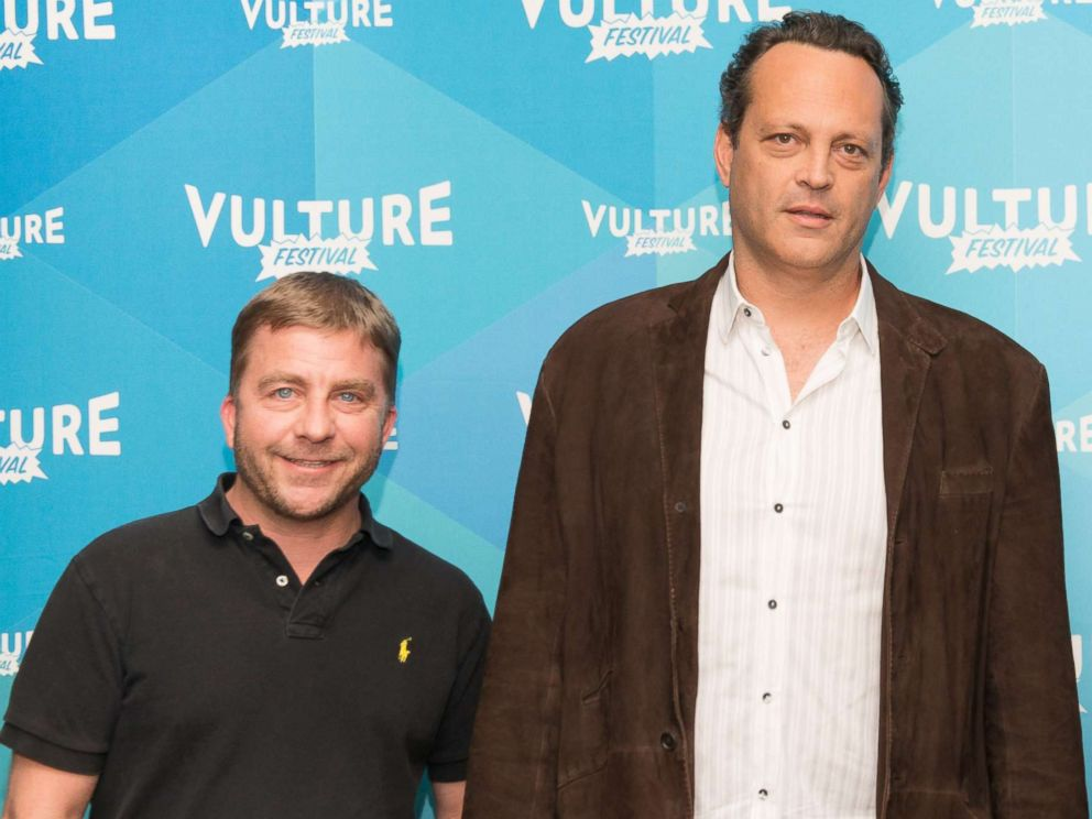 PHOTO: Peter Billingsley, Vince Vaughn and Tim Ferriss attend The Vulture Festival at Milk Studios, May 20, 2017, in New York.