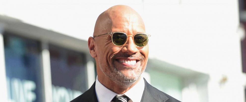 PHOTO:Dwayne Johnso, honored with Star On The Hollywood Walk Of Fame held on December 13, 2017 in Hollywood, Calif.