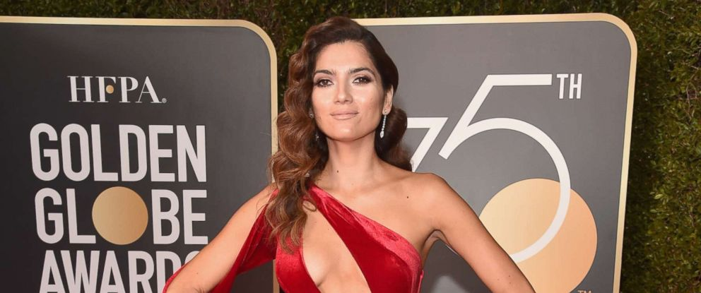 PHOTO: Actor Blanca Blanco attends The 75th Annual Golden Globe Awards at The Beverly Hilton Hotel, Jan. 7, 2018, in Beverly Hills, Calif.
