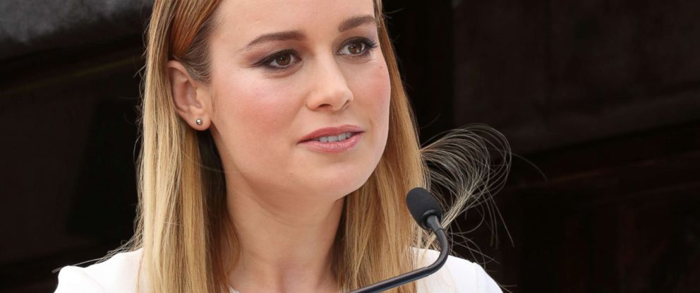 PHOTO: Brie Larson attends the ceremony to honor John Goodman with a star on The Hollywood Walk of Fame on March 10, 2017, in Hollywood, Calif.