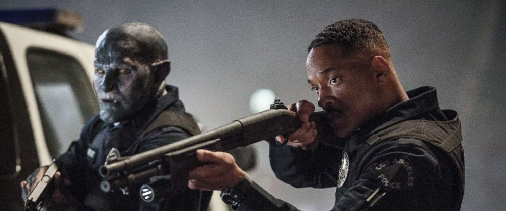 "PHOTO: Will Smith is a scene from ""Bright."""