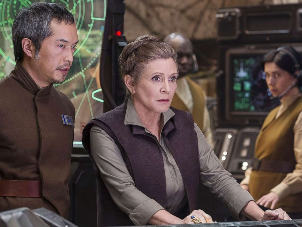 Ken Leung appear in a scene from Star Wars Episode VII- The Force Awakens