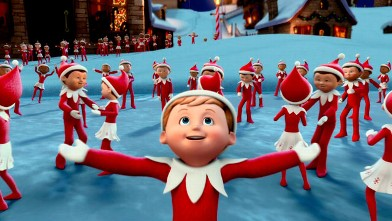 PHOTO: Chippey and his fellow scout elves in the North Pole in &quot;The Elf on the Shelf: An Elf's Story&quot; which will broadcast Dec. 14, 2012 on CBS.