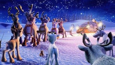 PHOTO: The Flight Before Christmas, an animated holiday special about a young reindeer with ambitions of becoming an expert flyer like his father, will be rebroadcast, Dec. 8, 2012.