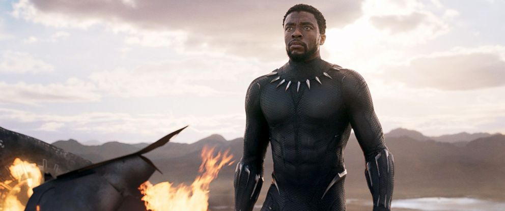"""PHOTO: Chadwick Boseman, as the King TChalla aka Black Panther, in a scene from """"Black Panther."""""""