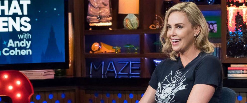 """PHOTO: Charlize Theron on """"Watch What Happens Live With Andy Cohen,"""" July 23, 2017."""