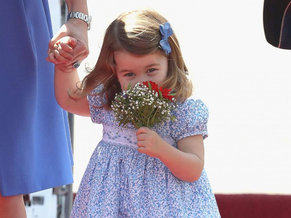 Princess Charlotte Looks Adorable In Pictures From Her First Day Of School