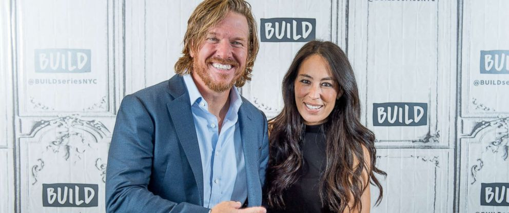 "PHOTO: Chip and Joanna Gaines discuss ""Capital Gaines: Smart Things I Learned Doing Stupid Stuff"" and the ending of the show ""Fixer Upper"" with the Build Series at Build Studio, Oct. 18, 2017 in New York City."