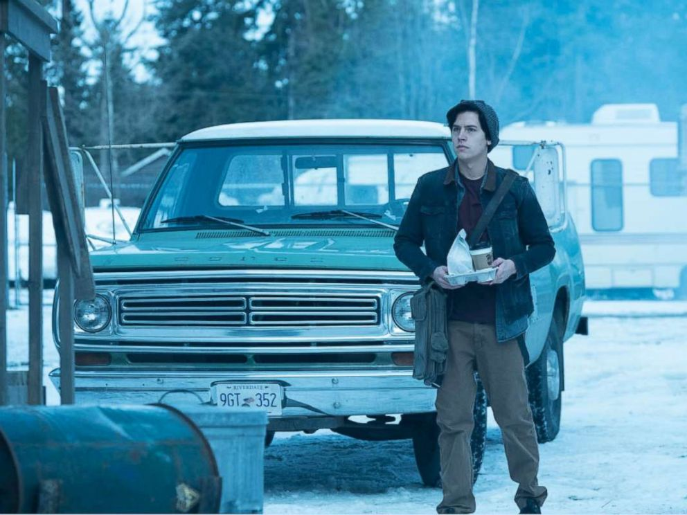 PHOTO: Cole Sprouse on Riverdale.